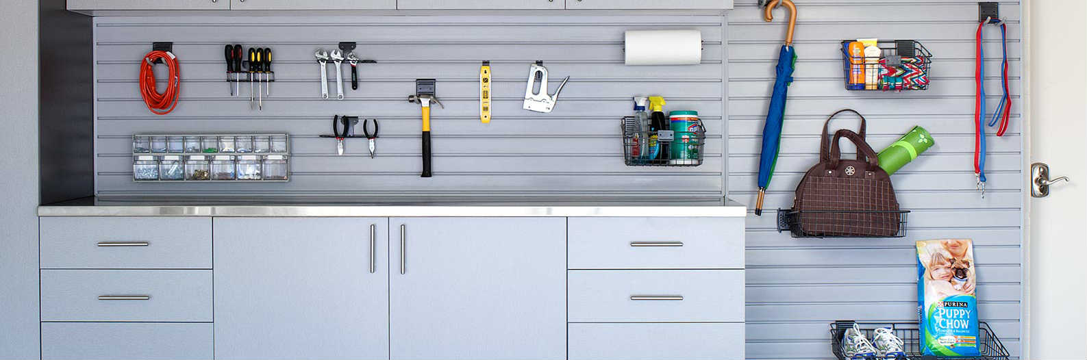 Replace Pegboards In Your Garage With Slatwall & Gridwall: